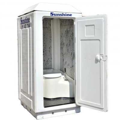 PORTABLE VIP TOILET (FLUSHING-UNIT)